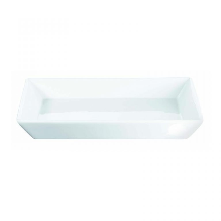 Porcelain Serving Tray/top (square)