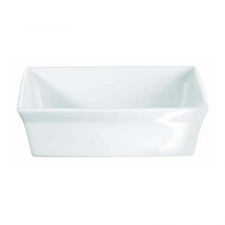 Porcelain Deep Dish (square)