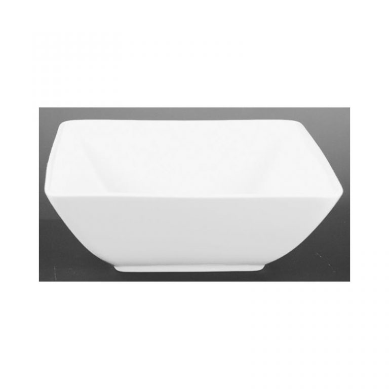Square Porcelain Bowl