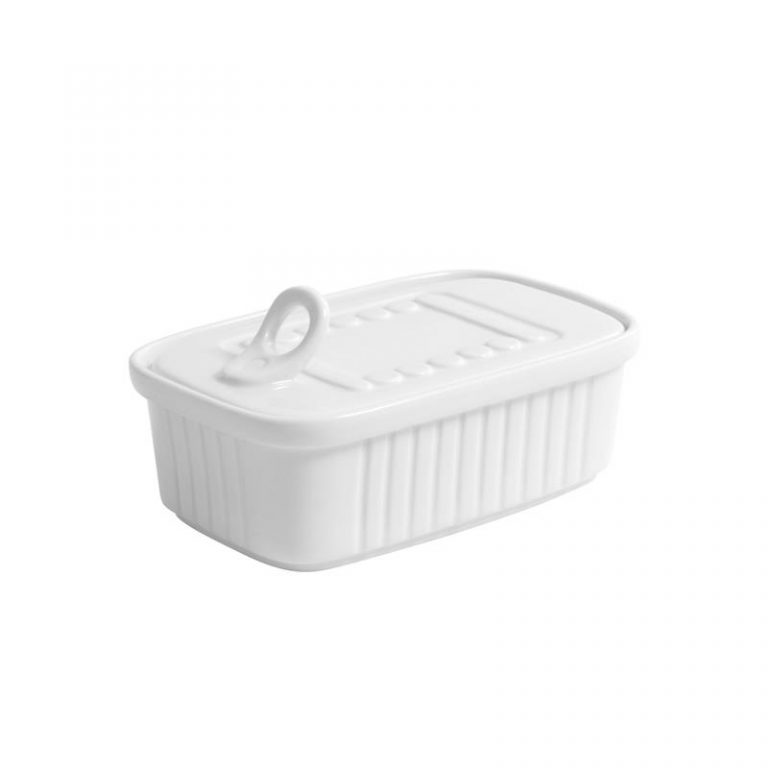 Sardine Tin With Lid
