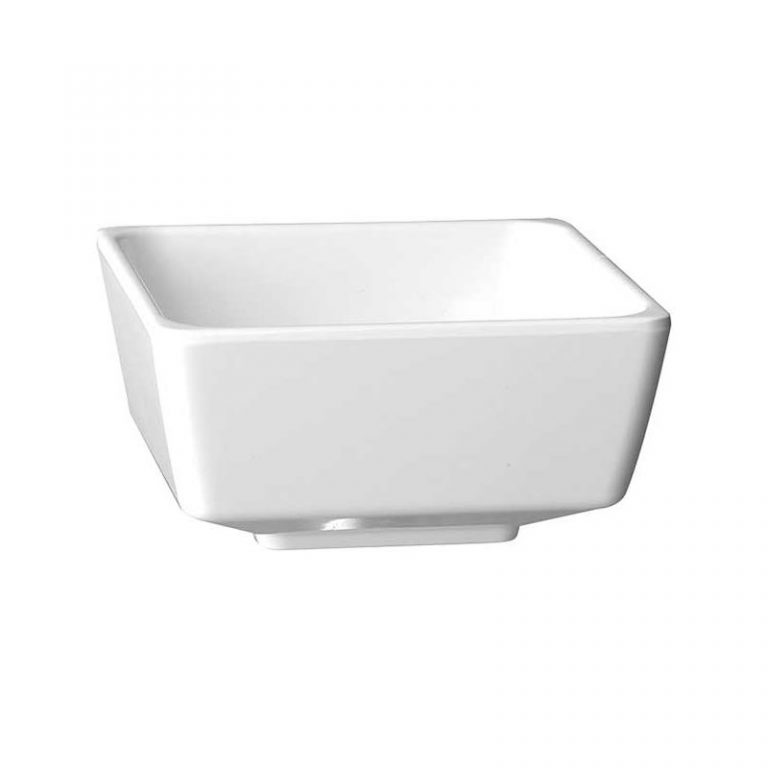 Footed Melamine Bowl