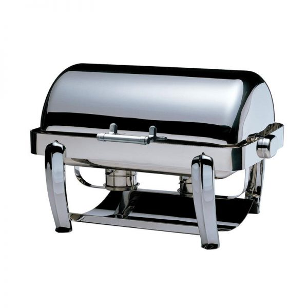 """""""odin"""" Oblong """"slow Closing"""" Roll Top Chafing Dish"""