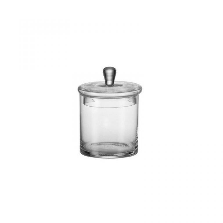 """Glass Jar """"tin"""""""