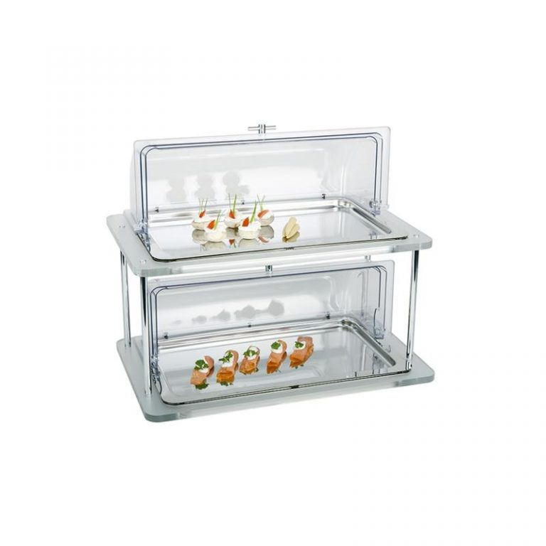 Double Cooling Plate Display