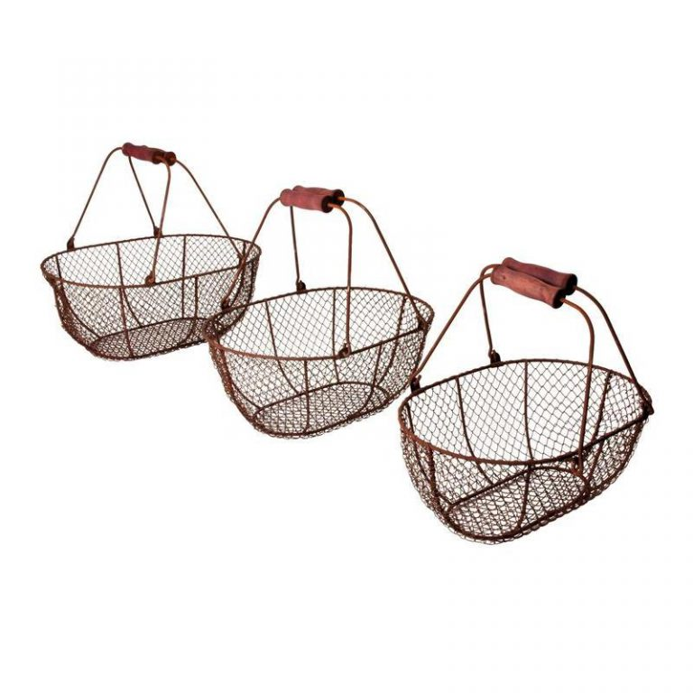 Wire Harvest Baskets