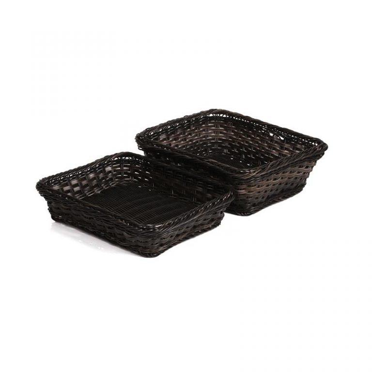 Polyrattan Basket