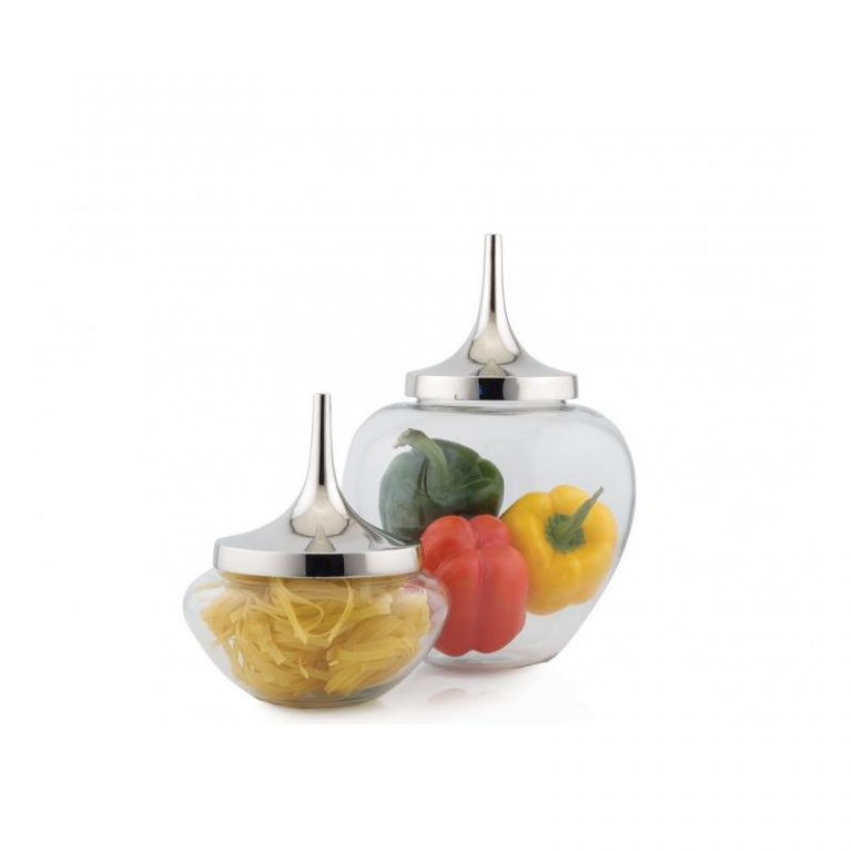 Ccapsicum Jar With Cap