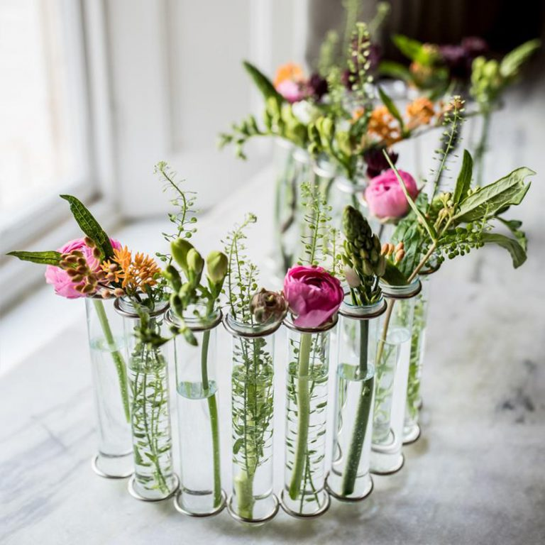 Test Tube Table Vase