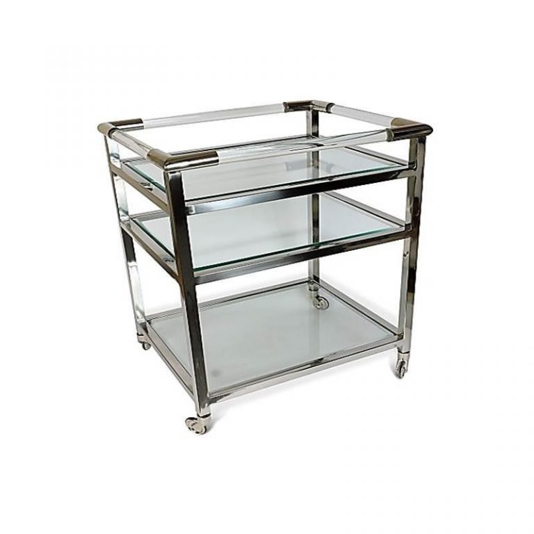 Drinks Trolley With 3 Tiers