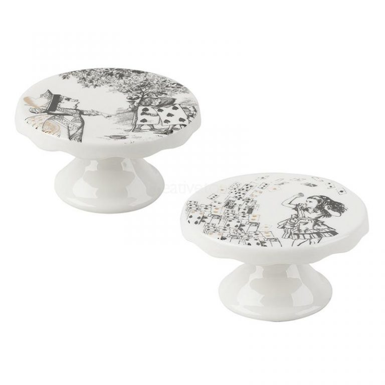 Set Of 2 Mini Cake Stands